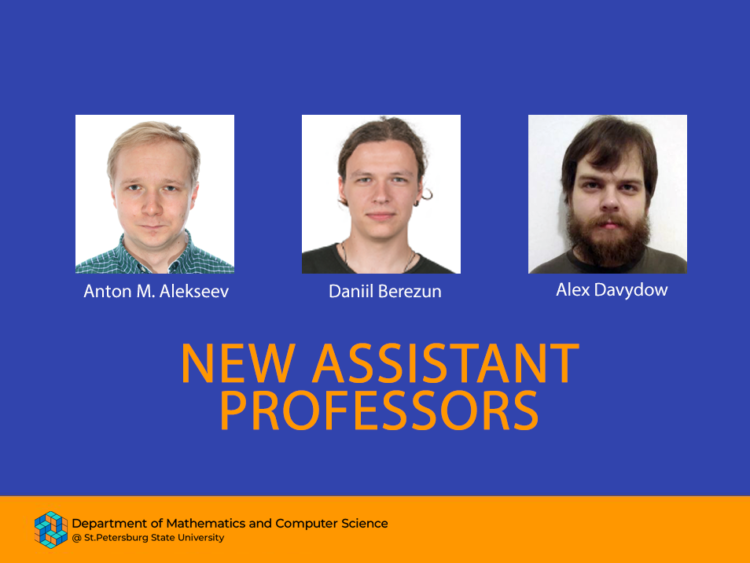 New Assistant Professors