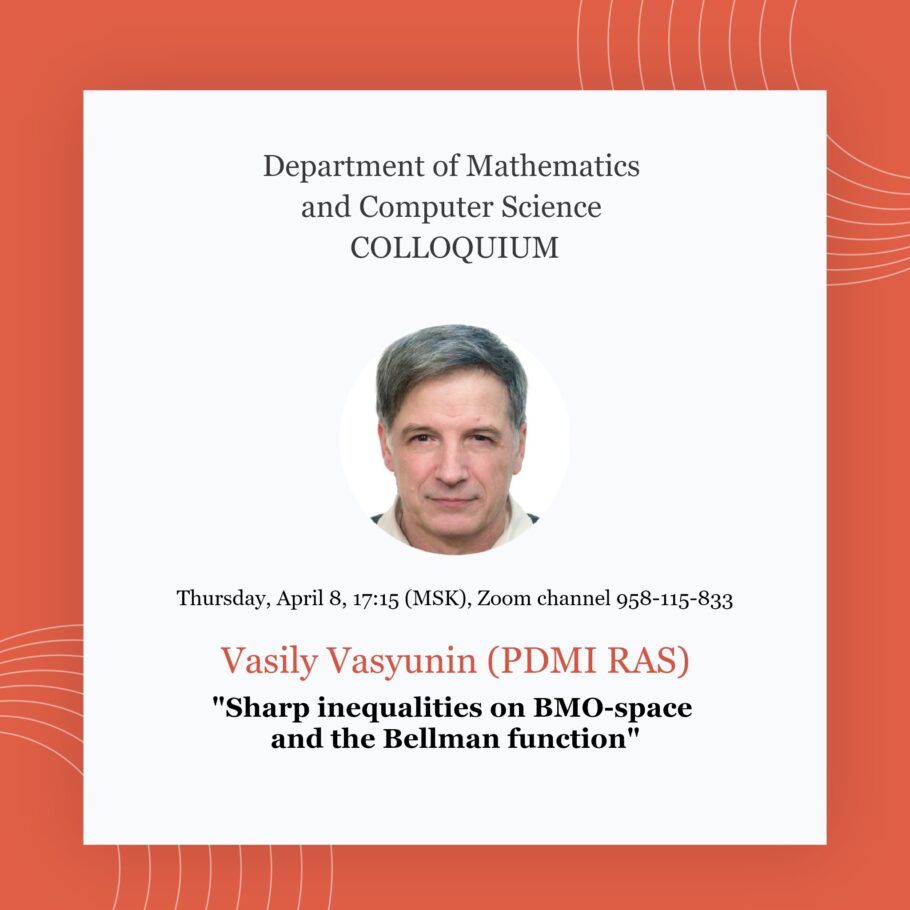 «Sharp inequalities on BMO-space and the Bellman function»