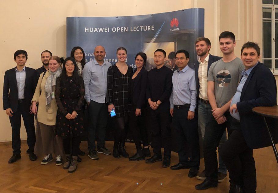 24 октября состоялась лекция Huawei